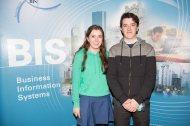 Students from Pobalscoil Chorca Dhuibhne Dingle - Roisín Fitzgerald and Ricky Keane
