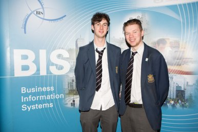 Students from Presentation Brothers - Bryan Foley and Dean Callanan