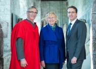 free pic no repro fee 18 oct 2016 Prof Ciaran Murphy Head of Cubs UCC ,Patricia Lunch BIS UCC , David Merriman Bank of Ireland who graduated with a degree in Business Information Systems (BIS) from UCC on Tuesday, October 18th. Photography by Gerard McCarthy 087 8537228 more info contact Alison O'Brien Fuzion Communications 021 4271234 086 3879388