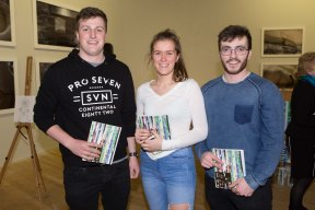 Stephen Green, Waterford, Aisling Fitzgerald, Ballincollig and Robbie Kidney, Douglas