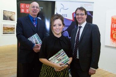 Frank Murphy, MONEX, Linda Ryan, Bank Of Ireland and David Merriman, Head of Enterprise Development Bank of Ireland