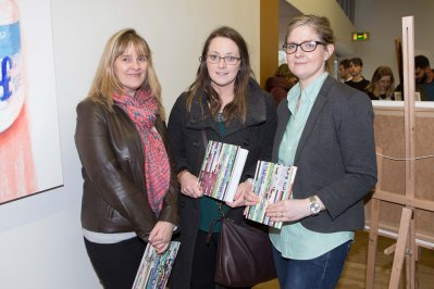 BIS Lecturers Gaye Kiely, Yvonne O'Connor and Ciara Heavin