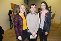 Claire Murphy, Castlelyons, Enda Sugrue, Tralee and Laura Crowley, Glanmire