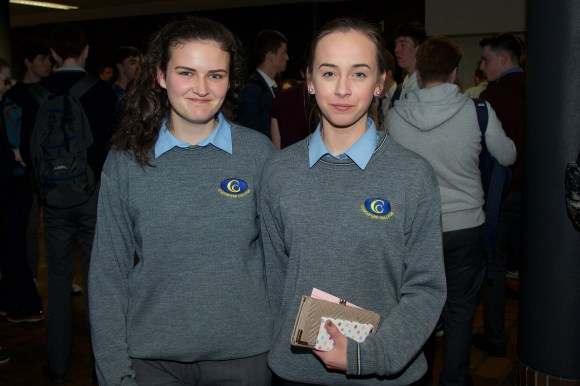 Ciara Twomey and Kate Sheehan from Coachford College.
