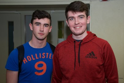 Jack Byrne and Aidan O'Sullivan from CBC Cork.