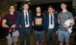 Owen O'Flynn, Patrick Kennelly, Roy Duggan, Pat Fennell and Paul Cullen all from PBC Cork.