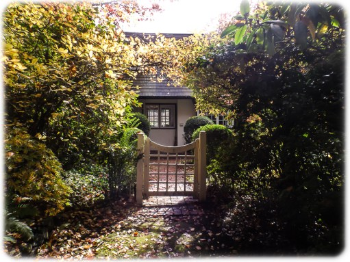Gates to the cottage