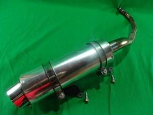 honda pcx125 jf28 muffler custom