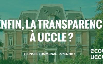Retour du Conseil communal du 27 avril 2017