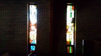 Stained Glass Windows in the Dark