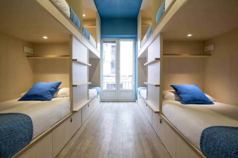 Mola Hostel in Madrid Spain  Find Cheap Hostels and