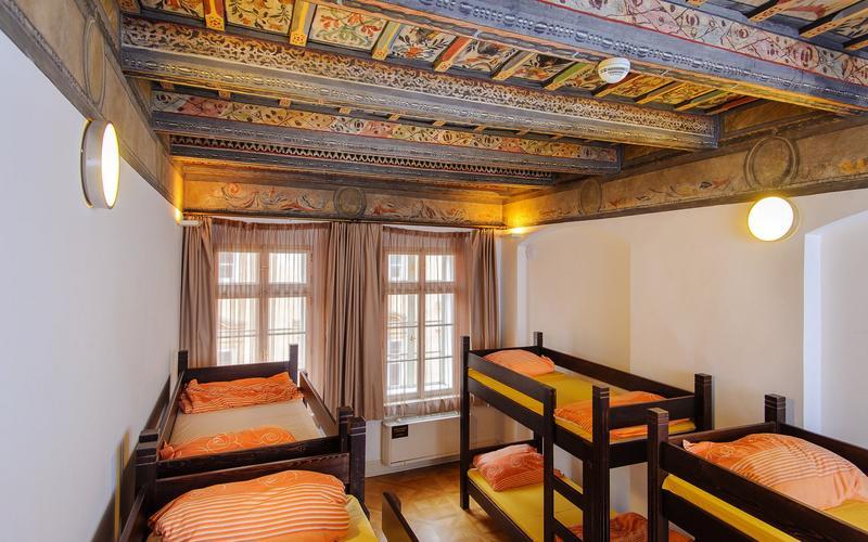 cheap kitchen storage signs hostel santini prague in prague, czech republic - find ...