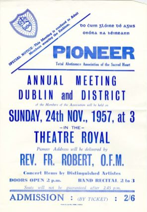 Poster advertising the PTAA annual meeting, 1957 (UCDA P145/32)