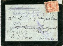 Envelope from Michael's last letter