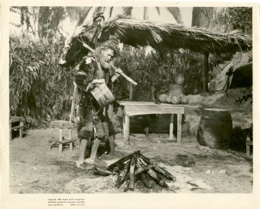 Promotional still from the 'Adventures of Robinson Crusoe' (UCDA P202/114)
