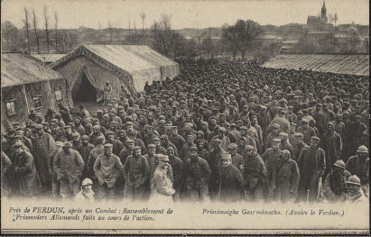 German prisoners at Verdun.