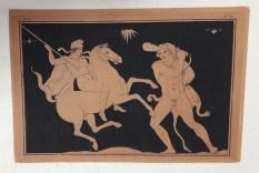 Vase image of Hercules from the 'Pitture de vasi...'