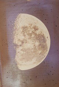 'The moon: her motions, aspect, scenery, and physical condition by Richard A. Proctor.... With three lunar photographs by Rutherfurd (enlarged by Brothers) and many plates, charts, etc' dated 1873.