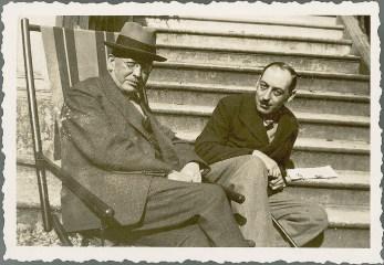 Con Curran and Paul Leon
