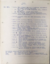 Running Diary dated 17 April 1921, p41 (UCDA P7/A/16)