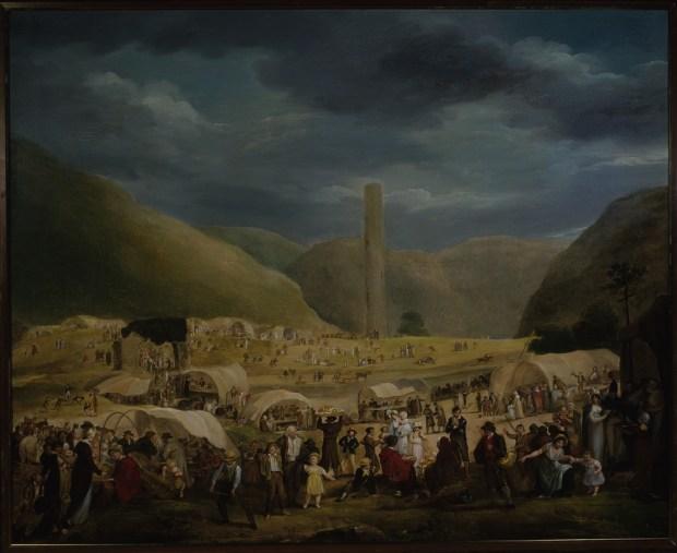'Pattern at Glendalough'