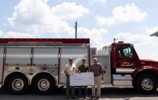 Viola Receives Fire Truck Through Grant