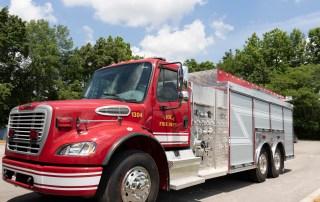 Viola Fire Truck Received Through CDBG