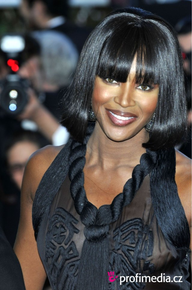 naomi campbell - - hairstyle - easyhairstyler