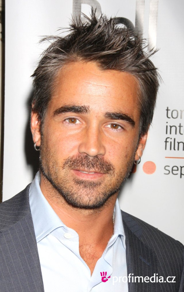 colin farrell - - hairstyle - easyhairstyler