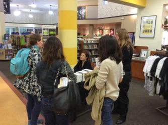 Book signing with Marya
