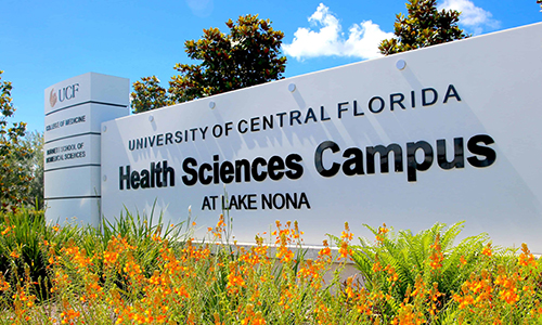 UCF'S Academic Health Sciences Center Receives $300,000 Gift