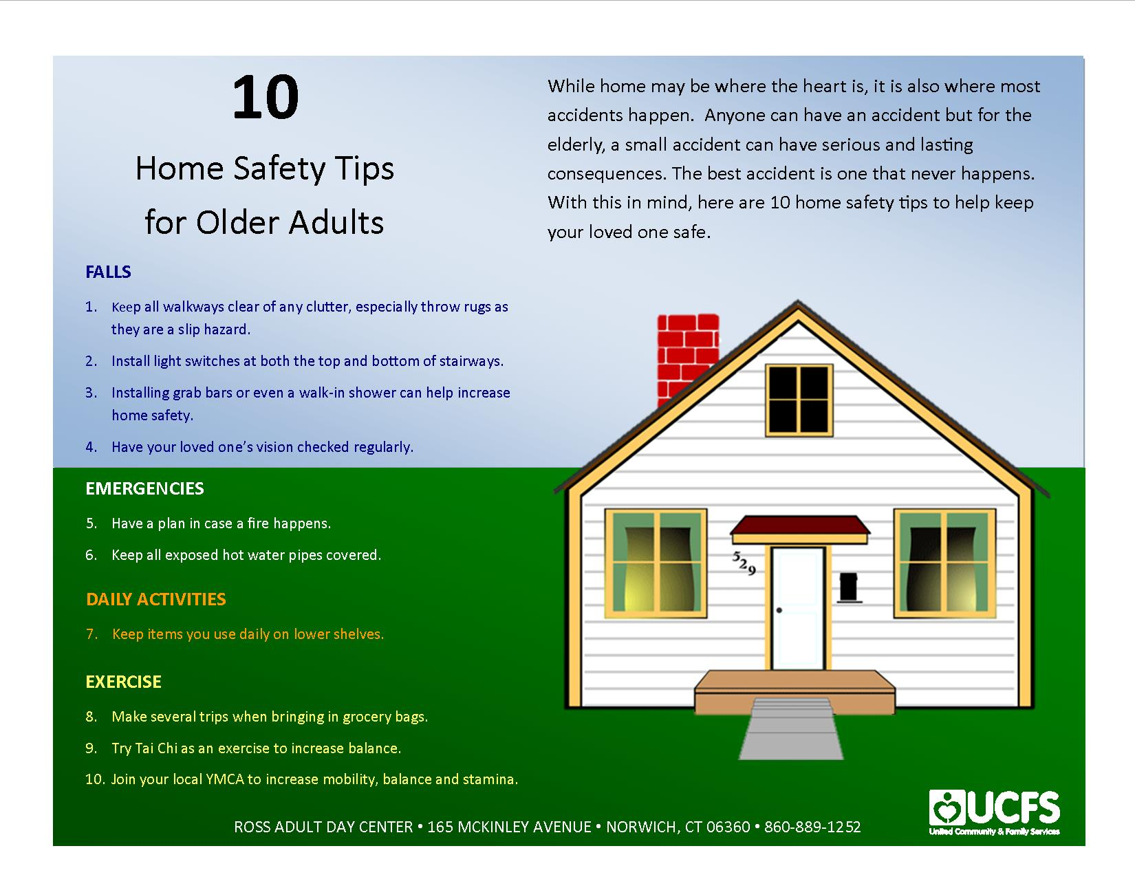 10 Home Safety Tips For Older Adults