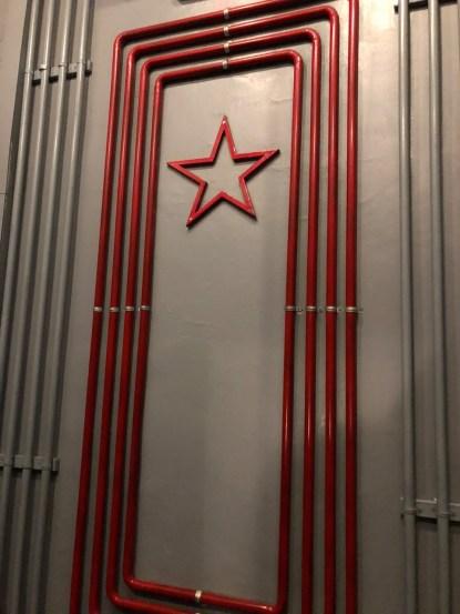 Piping inside Bunker 42