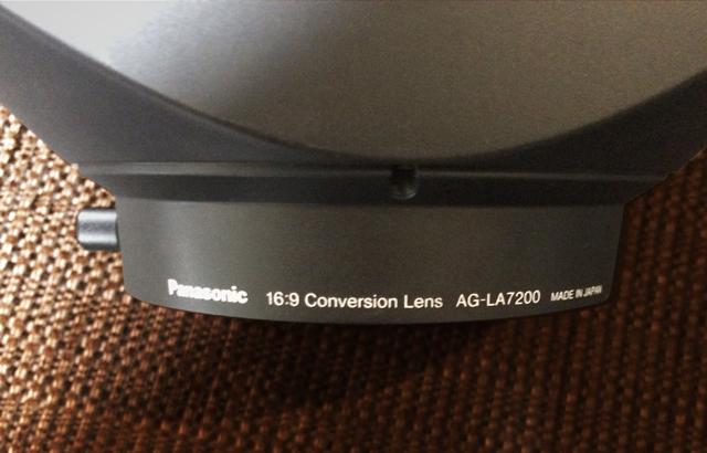 Panasonic AG-LA7200,アナモフィックレンズ,アナモルフィックレンズ,プロジェクター,シネスコ,シネマスコープ