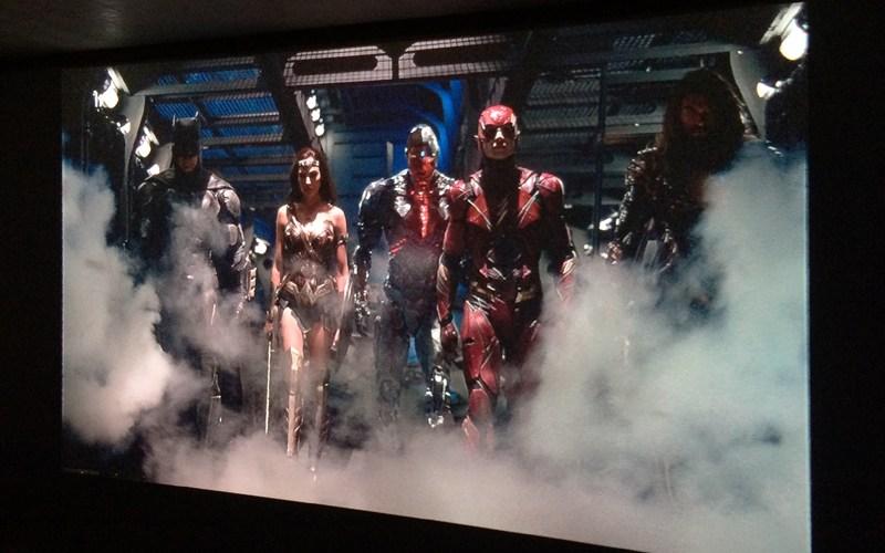 ジャスティスリーグ,Justice League,ホームシアター,プロジェクター