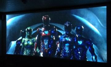 Power Rangers,パワーレンジャー,ホームシアター,プロジェクター