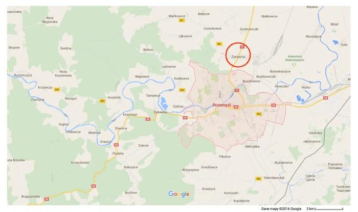 Przemyśl – Mapy Google