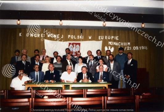 Akt założenia KWP w Europie w Monachium 1985
