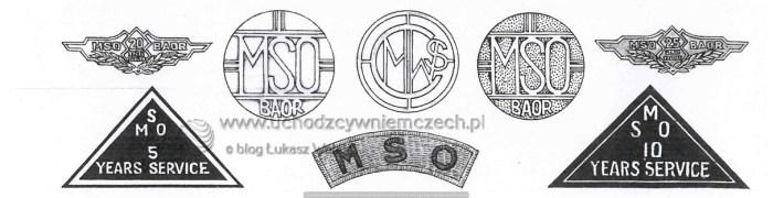 Odznaki MSO