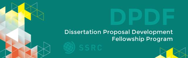 ssrc pre dissertation fellowship