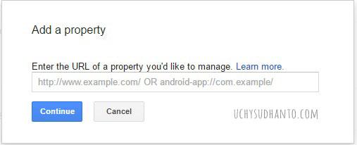 daftar google search console uchy sudhanto