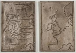 Weather Map Printing Blocks, Galton Collection, UCL
