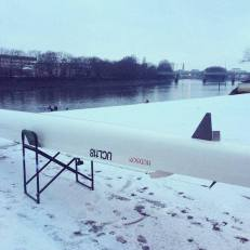 Winter training on the Tideway