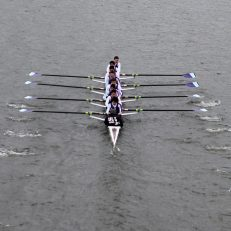 UCL Men's 1st 8+ at Kingston Head