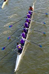 Senior Men's 1st VIII+ at HoRR, 2016