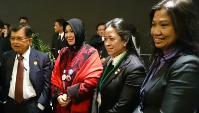 Local and Regional Authorities Major Group at UN World Conference on Disaster Risk Reduction, Sendai, Japan, 17 March 2015.