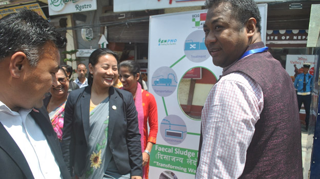 Nepal Minister Signs FSM Pledge to Support UCLG ASPAC's Sanitation Project