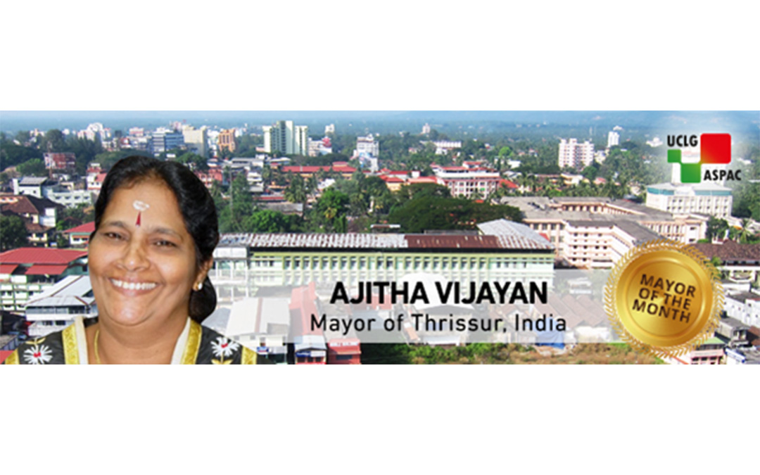 Mayor Ajitha Vijayan: Listening to People and Aspiring to a Woman-Friendly City