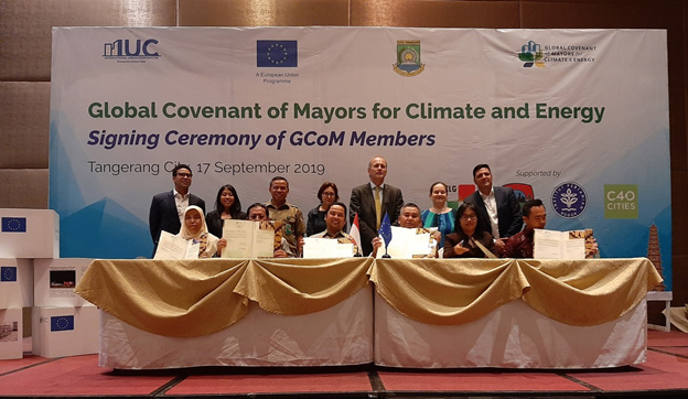 Supported by the European Union, UCLG ASPAC Materialised Cities' Commitment for Better Urban Resilience