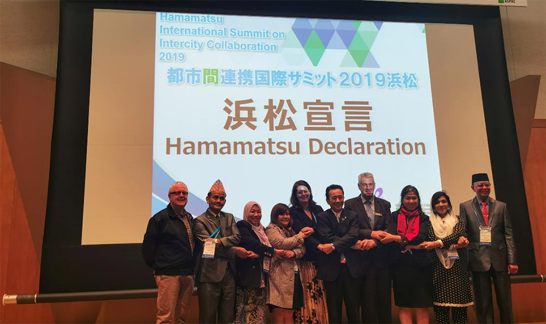 Hamamatsu Fosters Intercity Collaboration